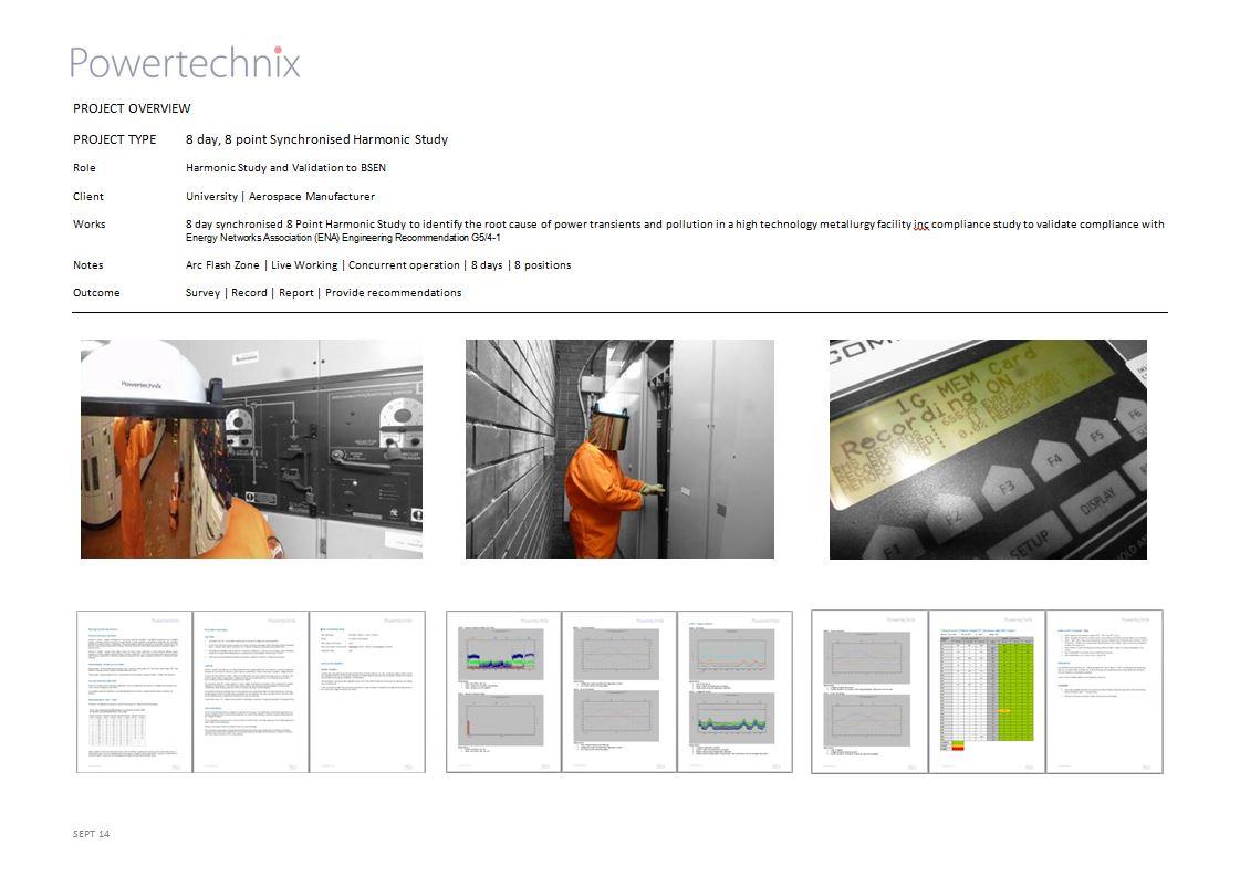 Project Sheet Harmonic Survey